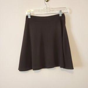 Charlotte Russe Black Skater Skirt Large